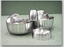 Platinum Dishes with an Platinum Crucible, made by Labor-Platina, Hungary